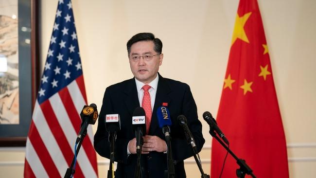 新任駐美大使秦剛:中美關系的大門已經打開 就不會關上