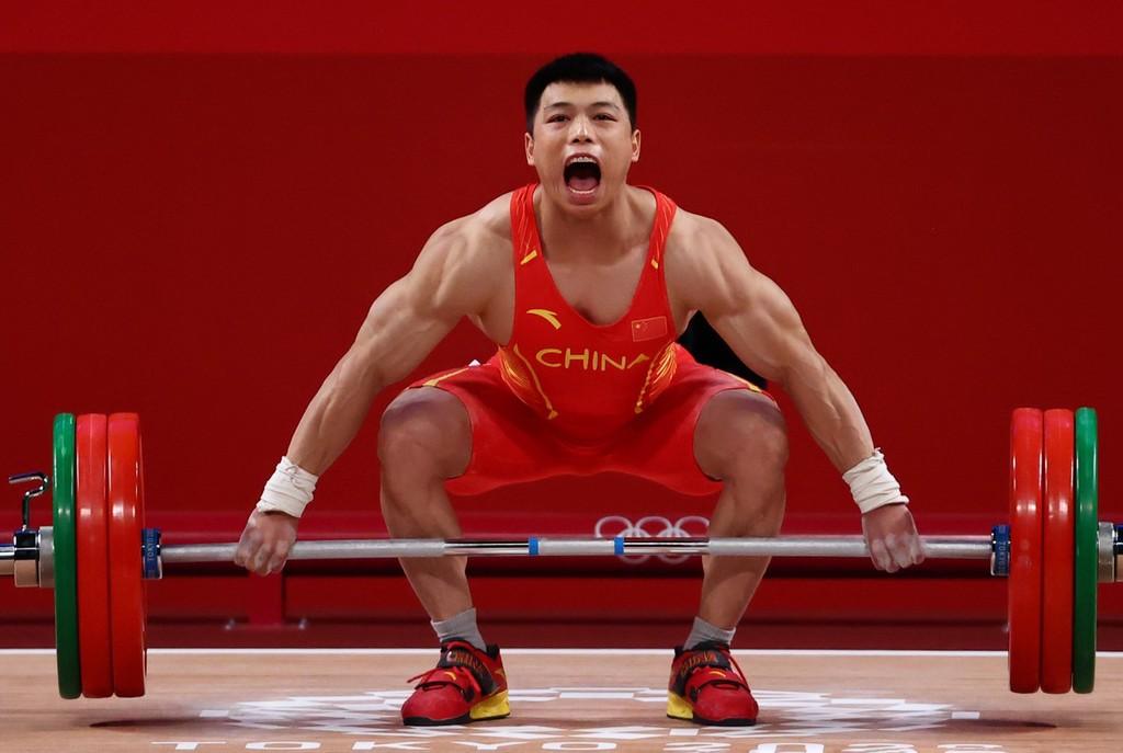 王者归来!谌利军为中国夺第6金 创造奥运纪录