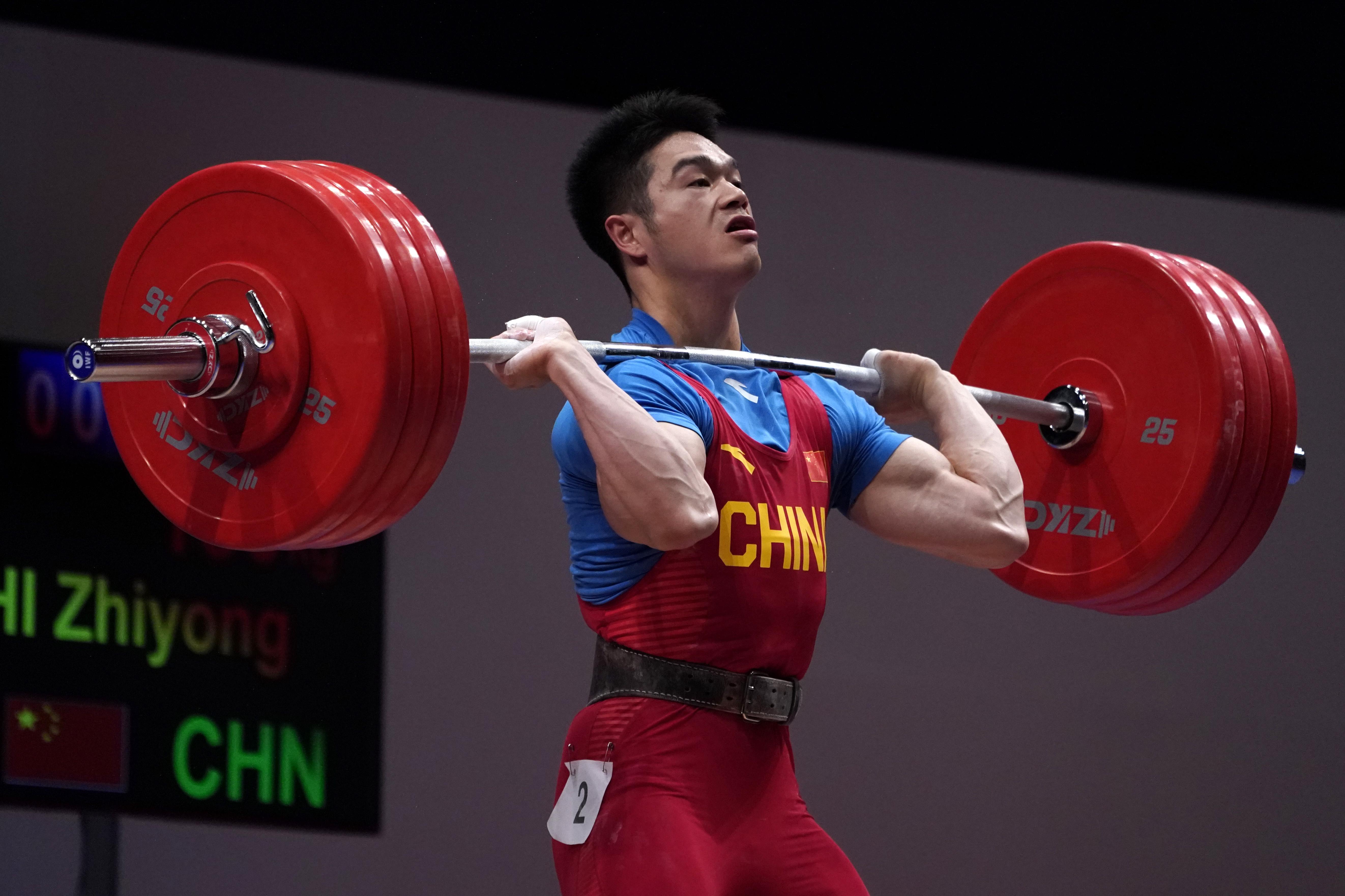 石智勇目标卫冕奥运金牌。