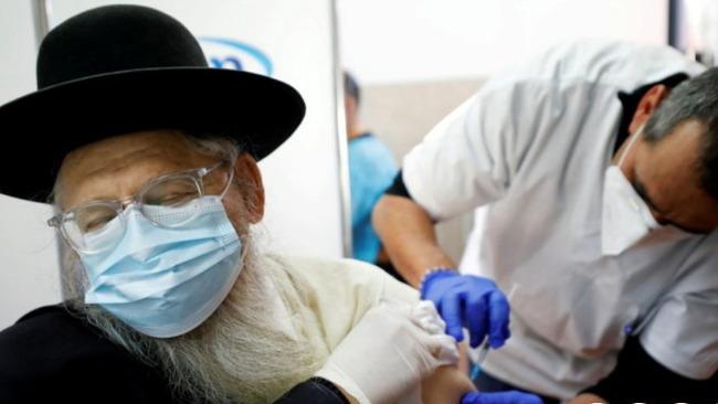 以色列新冠感染率上升 將為老年人接種第三劑疫苗