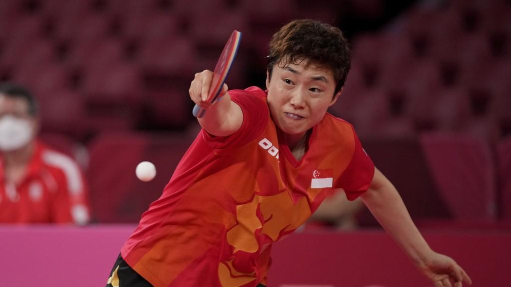 新加坡乒乓球选手冯天薇,1986年出生于黑龙江哈尔滨