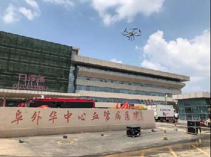 秒通!中国电信应急通信神器系留无人机基站驰援河南