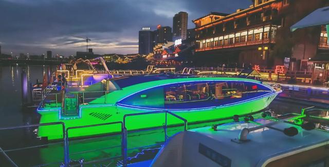 穿紫河游船。图片源自大众点评APP
