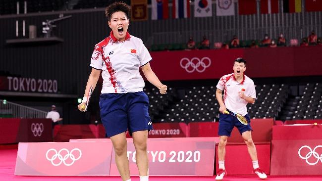 這場混雙決賽 為中國羽毛球的復蘇開了好頭
