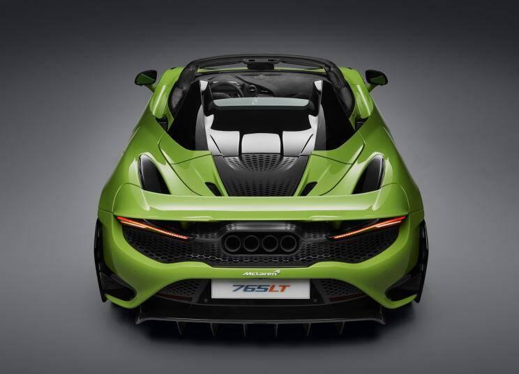 迈凯伦 迈凯伦765LT 2021款 4.0T Spider