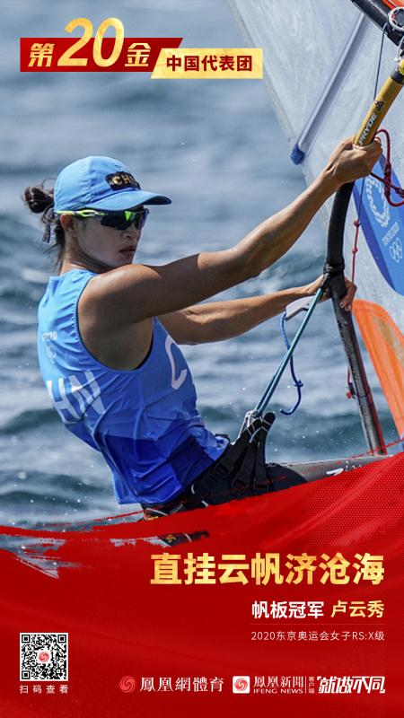 第20金!中国女子帆板斩获冠军