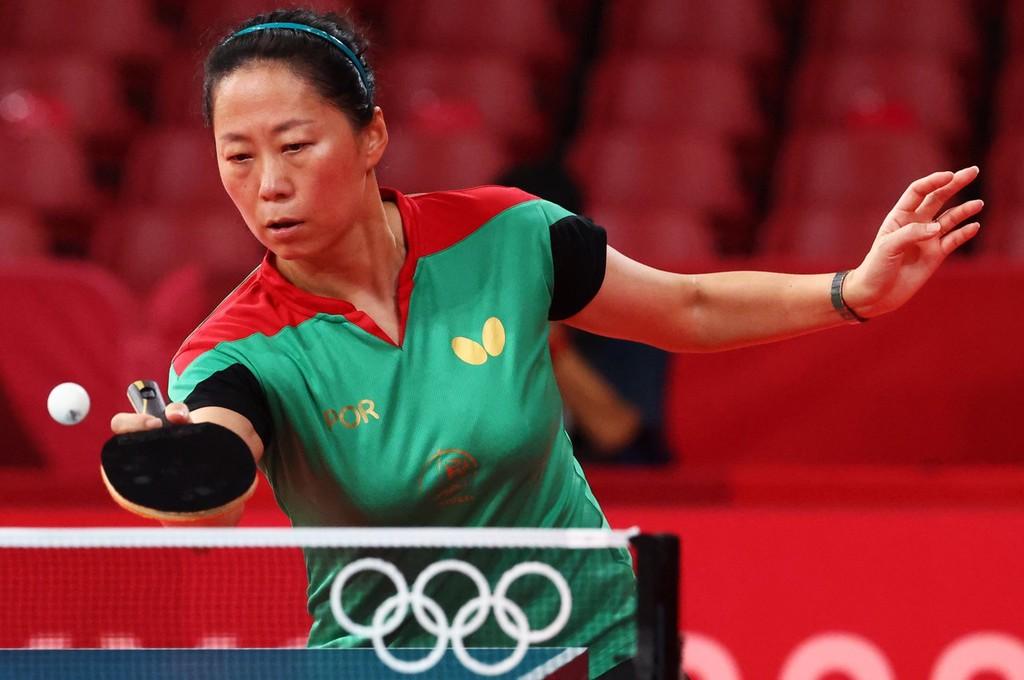 葡萄牙乒乓球选手付玉,曾经是国乒球手