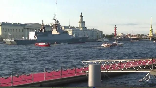 俄海军将举行组建325周年大阅兵