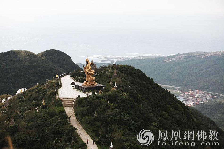 台湾灵鹫山多罗观音(图片来源:凤凰网佛教 摄影:丹珍旺姆)