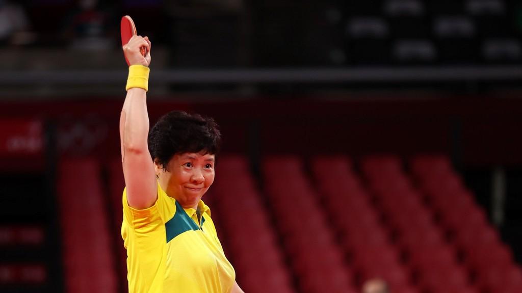 澳大利亚乒乓球选手洪剑芳