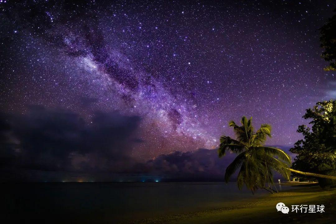 夜晚的银河 图1:Evdokimov Maxim/Shutterstock 图2:icemanphotos/Shutterstock