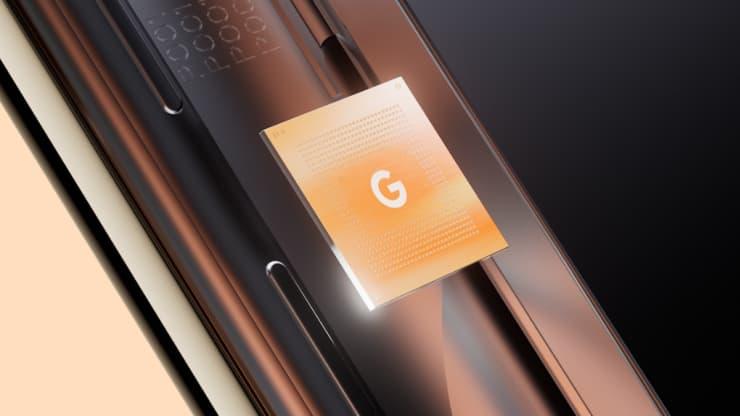 """""""谷歌张量""""处理器"""