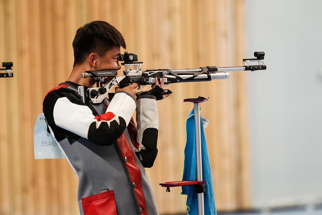 第27金!中国射击队再夺冠 张常鸿打破世界纪录