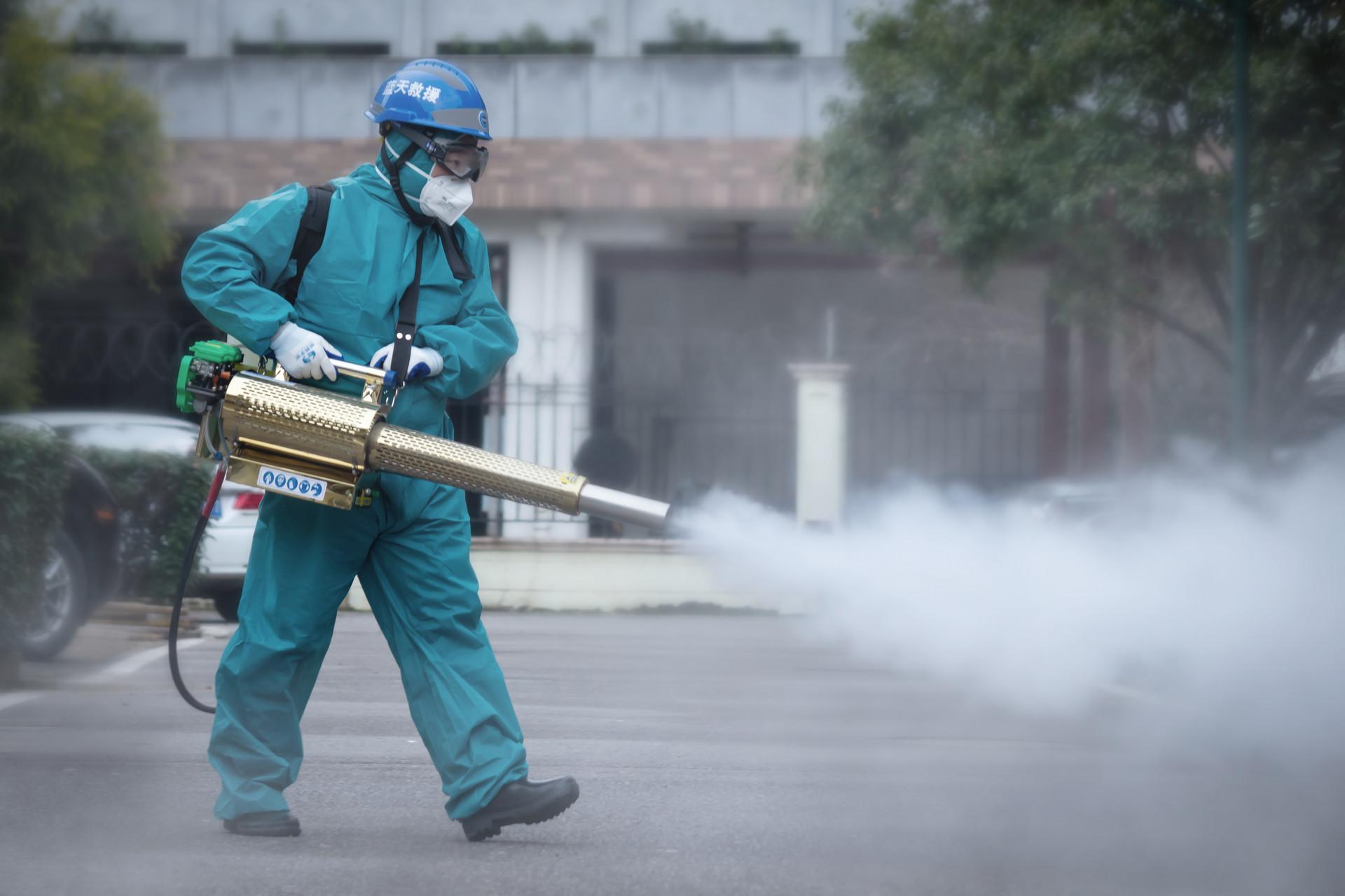 青岛住建局:建筑工地重点部位每日不少于四次消毒