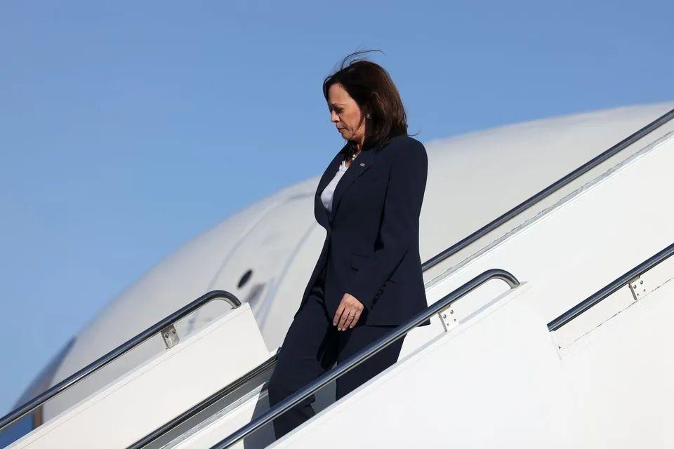 哈里斯拥有亚裔血统,这被拜登政府认为是一个外交优势。 图源:Reuters