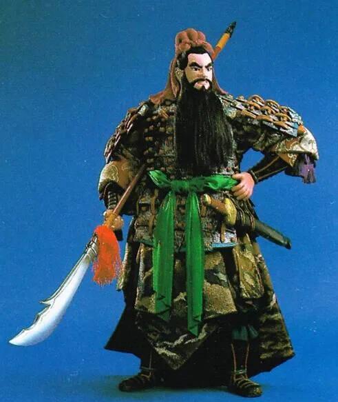 上图_ 关羽(160-220年),本字长生,后改字云长