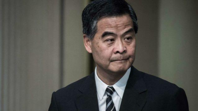 梁振英狠批香港教协反中乱港:偏激恶劣 彻头彻尾的政治组织