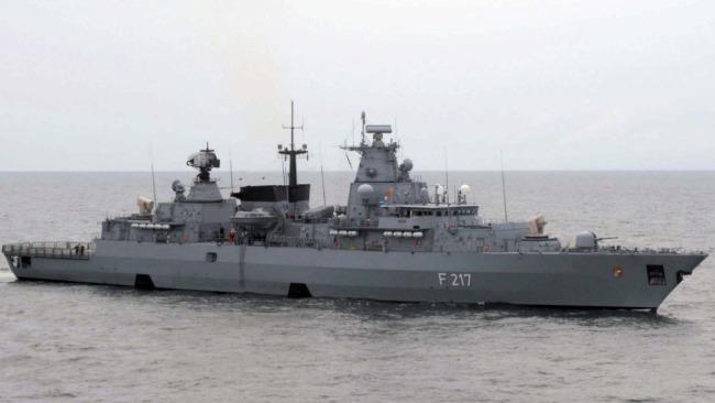 德国护卫舰起程前往印太 打算穿行南海访问上海