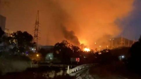 土耳其山火持续一周 致发电厂爆炸