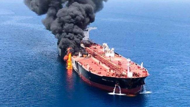 以色列和美、英称伊朗是油轮遭袭事件的幕后黑手