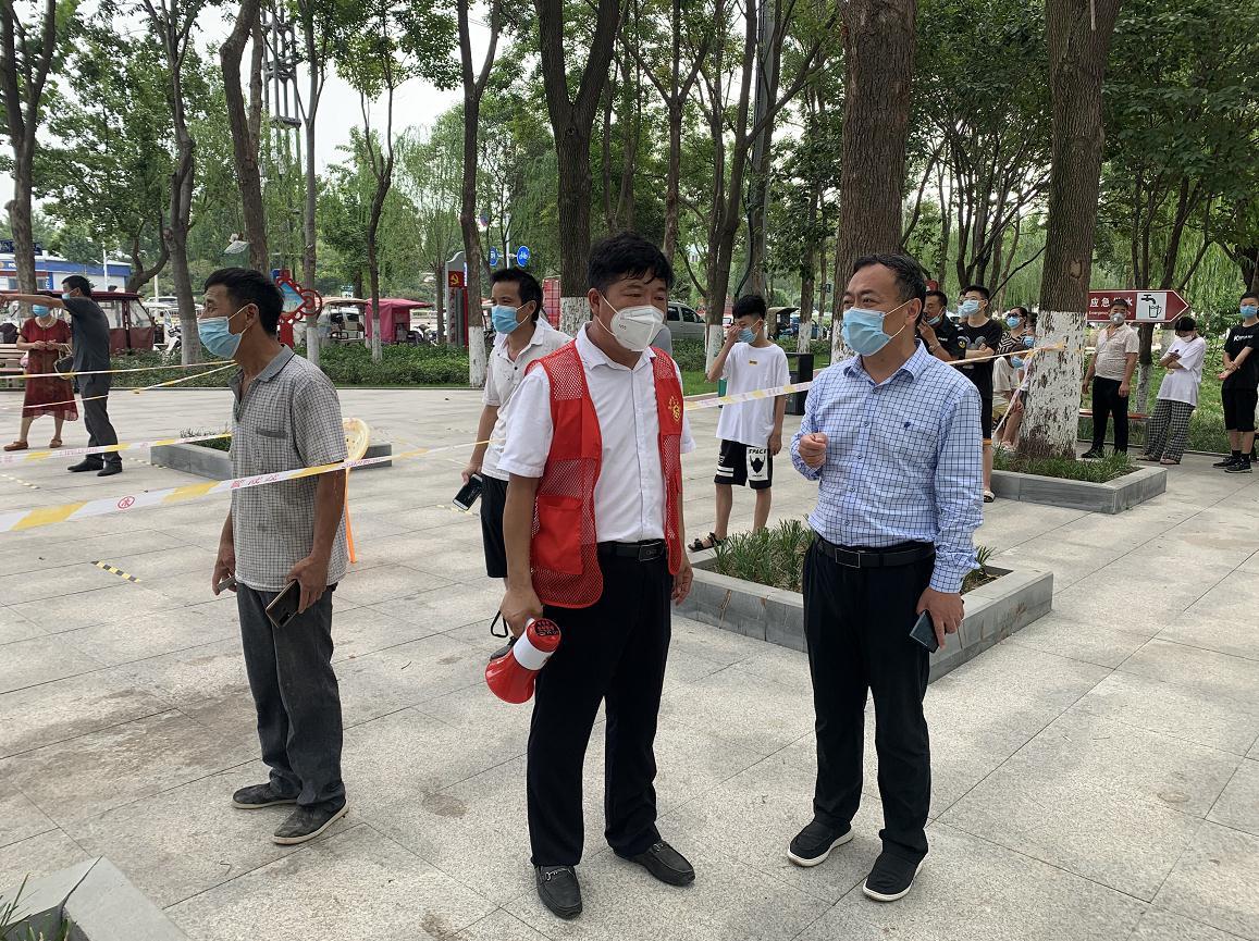 睢阳区文化街道办事处全员核酸检测工作有速度更有温度