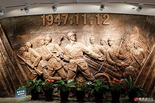 走进石家庄解放纪念碑,打卡红色地标(一)
