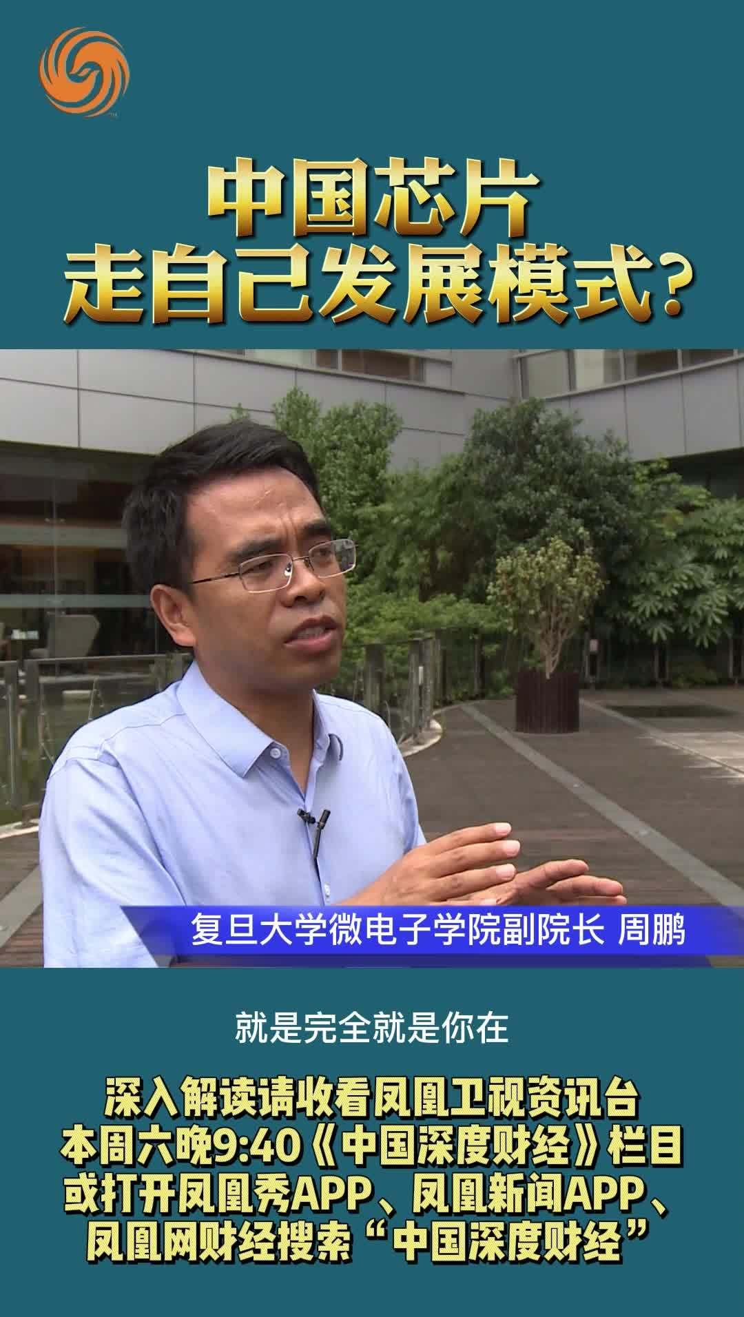 周鹏:中国芯片走自己发展模式?