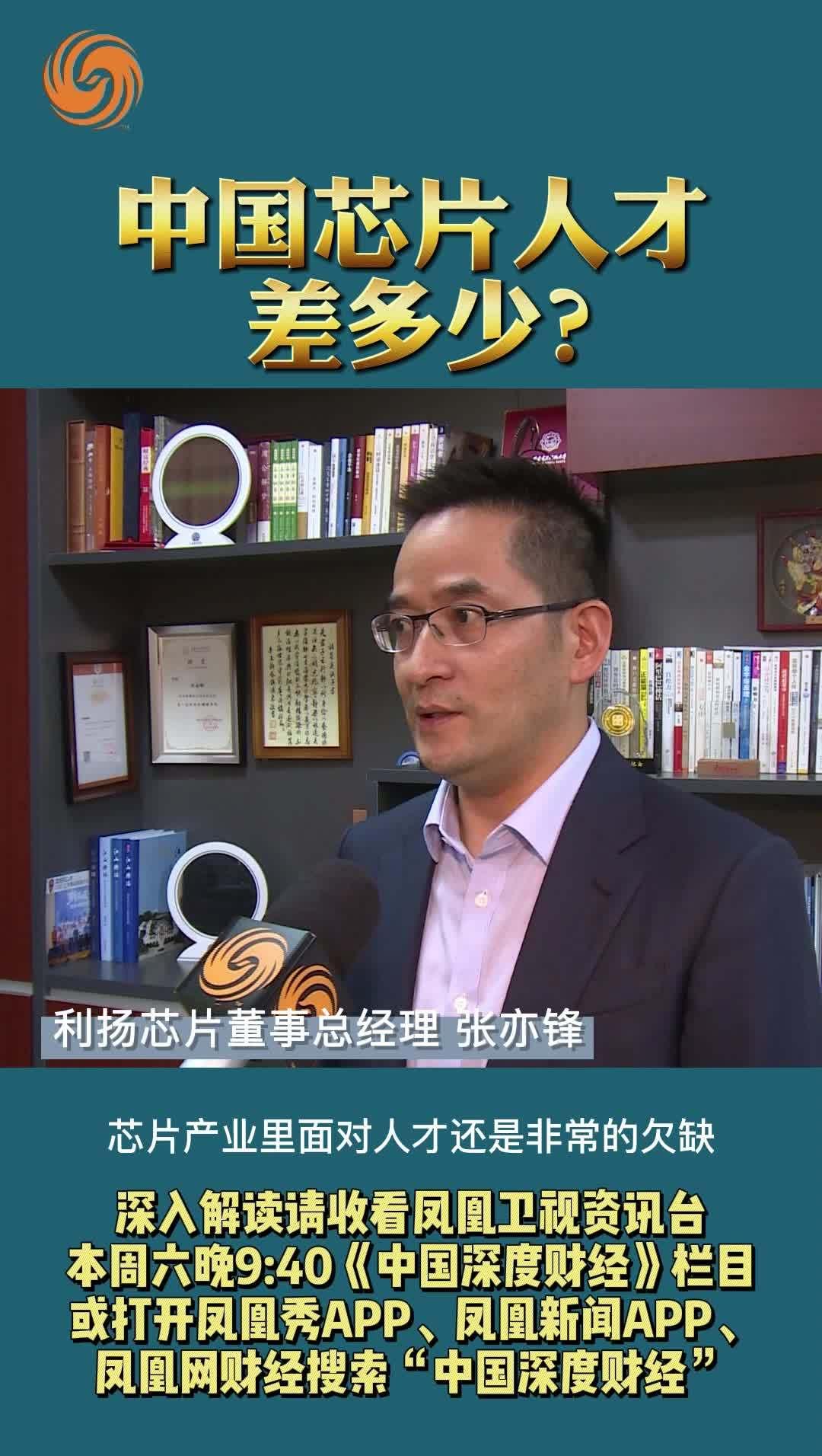 张亦锋:中国芯片人才差多少?