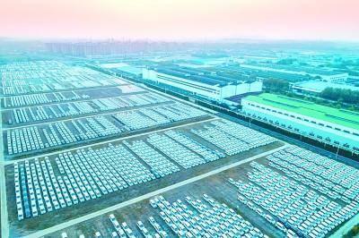 位于南京市溧水区的长安新能源汽车基地 资料图片