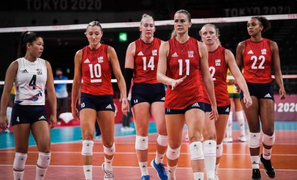 美国女排首夺奥运冠军 39金反超中国锁定金牌榜第1