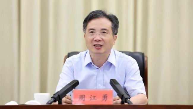 杭州市委书记周江勇被查 昨天还出席会议