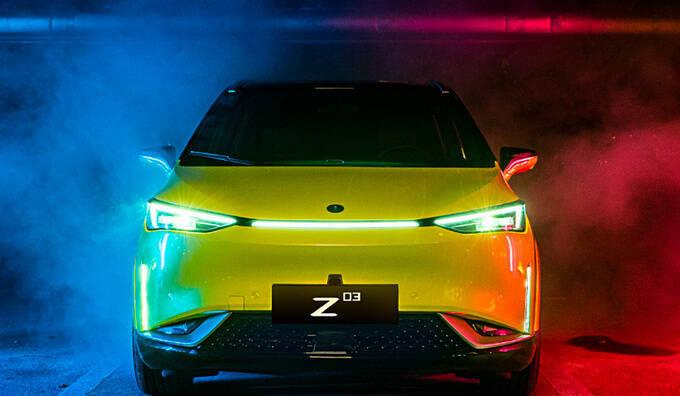 合创Z03开启预售 XX-XX万 续航里程超600km-图2