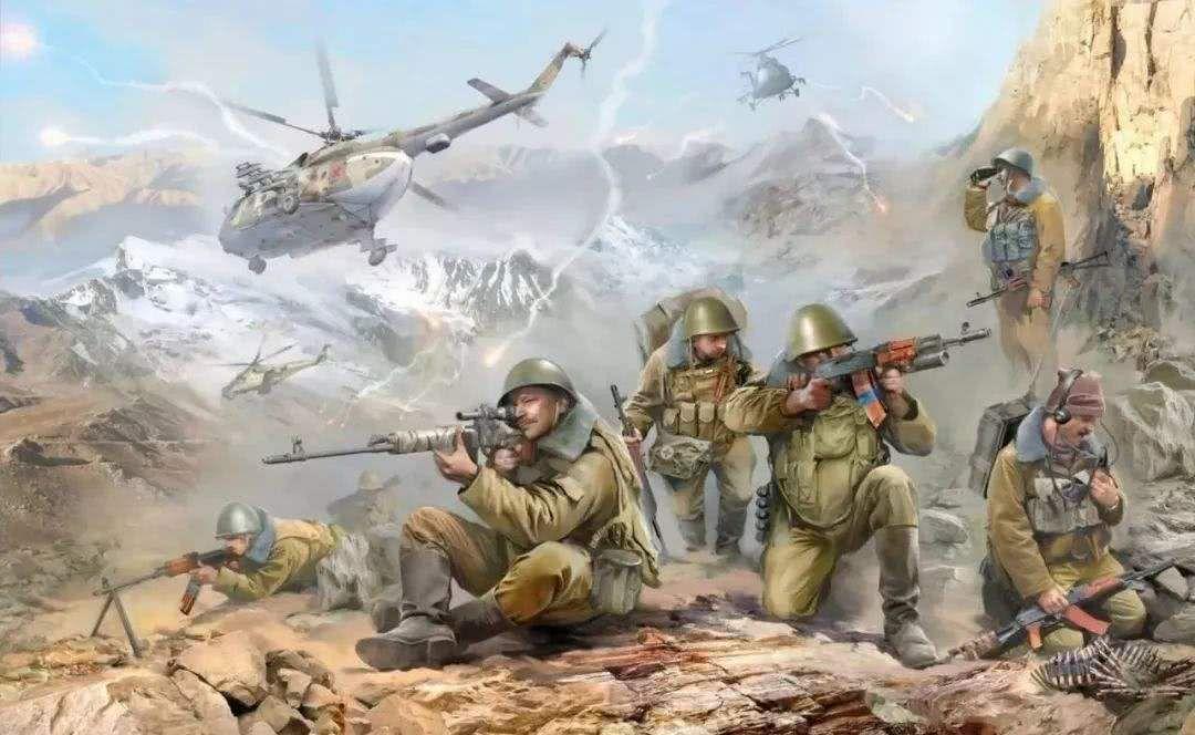 """1979年,暗中与美国接触的阿富汗人民民主党总书记哈菲佐拉·阿明一家在苏联特种部队发动的""""风暴333行动""""中被击毙,苏军随后大规模入侵阿富汗。"""