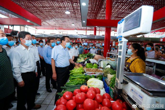 李克强郑州考察为何要看农贸市场