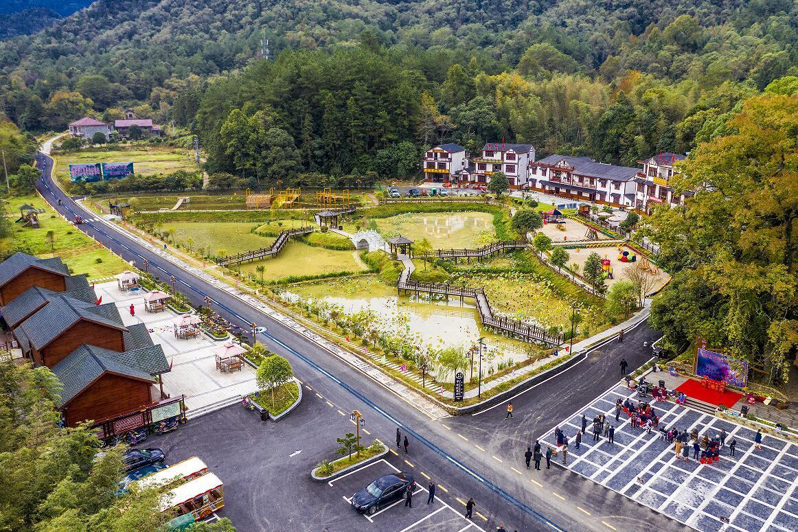 武宁长水乡村森林公园(陈细兰 摄)