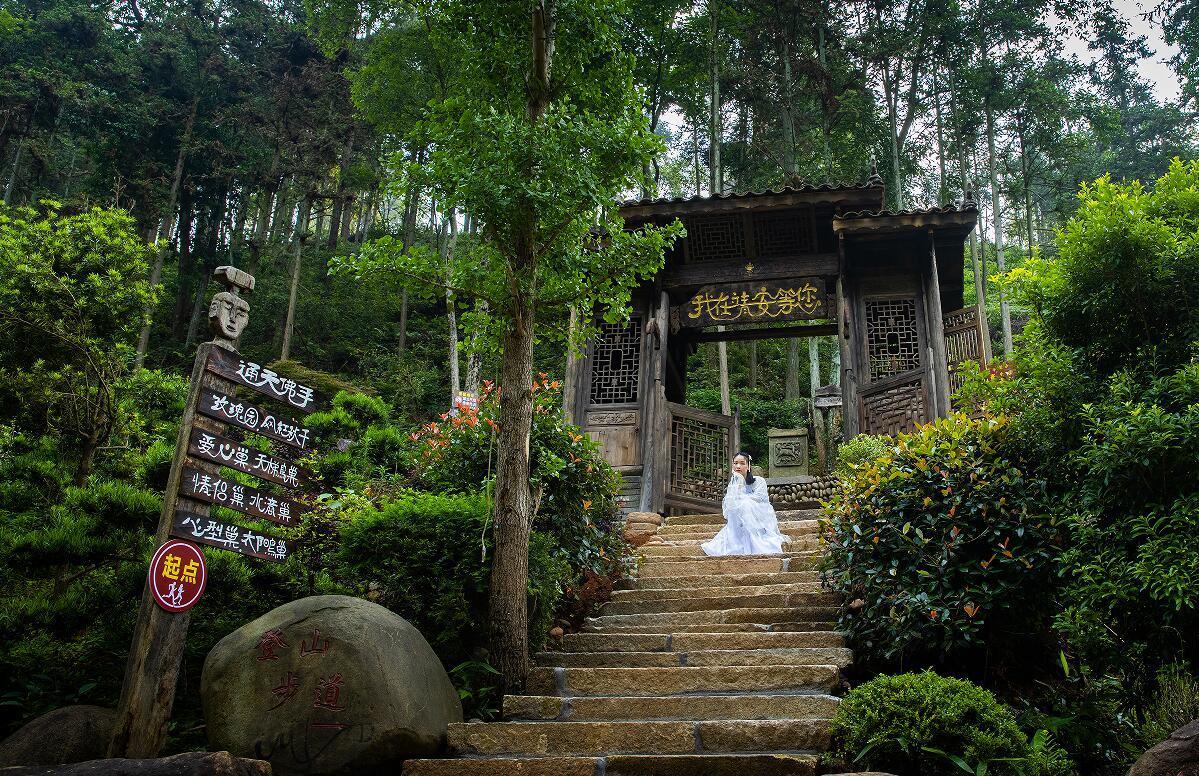 靖安雷公尖乡村森林公园(刘英 摄)