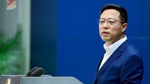 中国国际电视台遭英国通讯管理局罚款10万英镑 外交部回应
