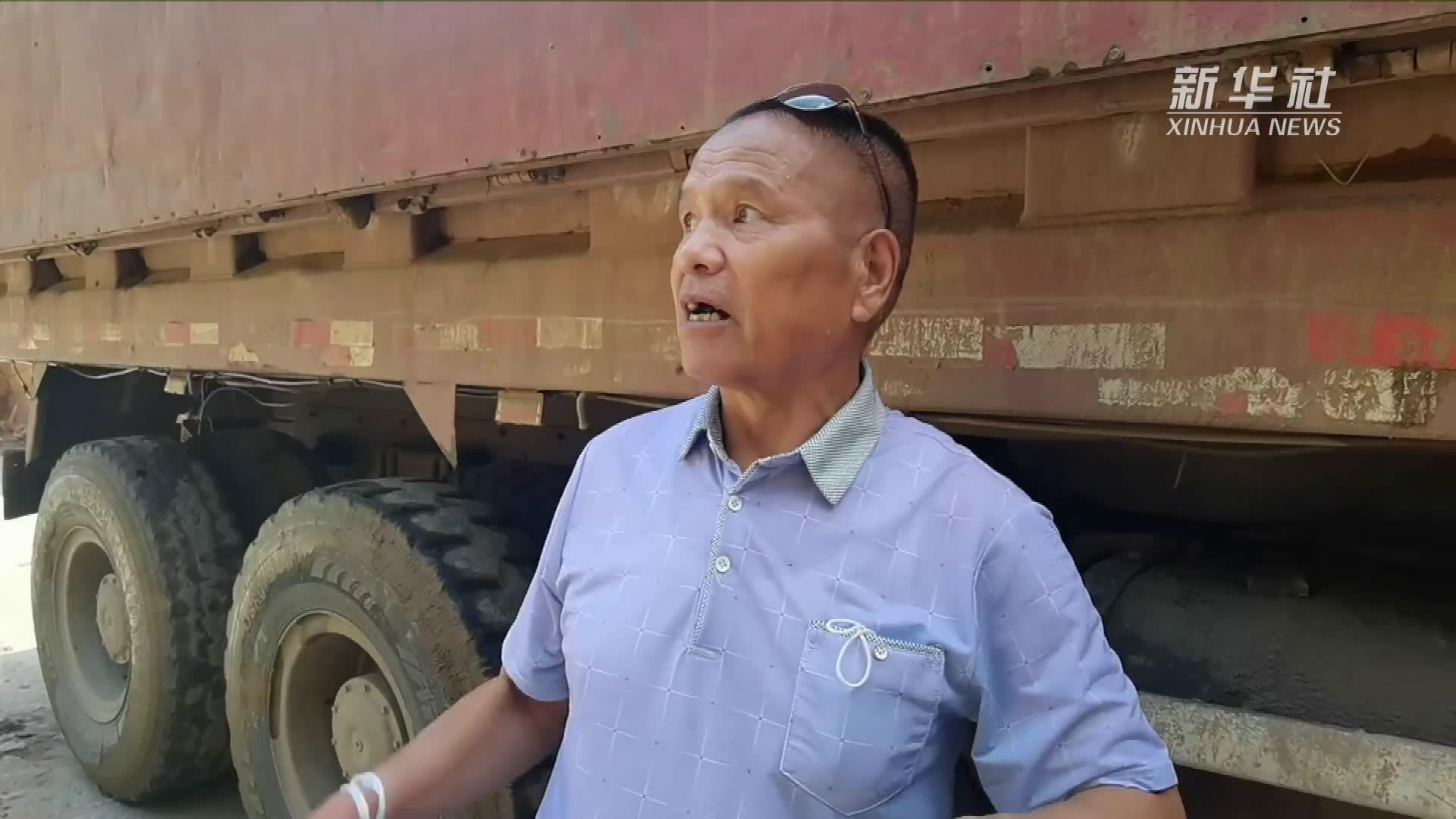 新华全媒+|基础设施损毁严重 受灾群众已被妥善安置——直击西安市蓝田县暴雨受灾一线