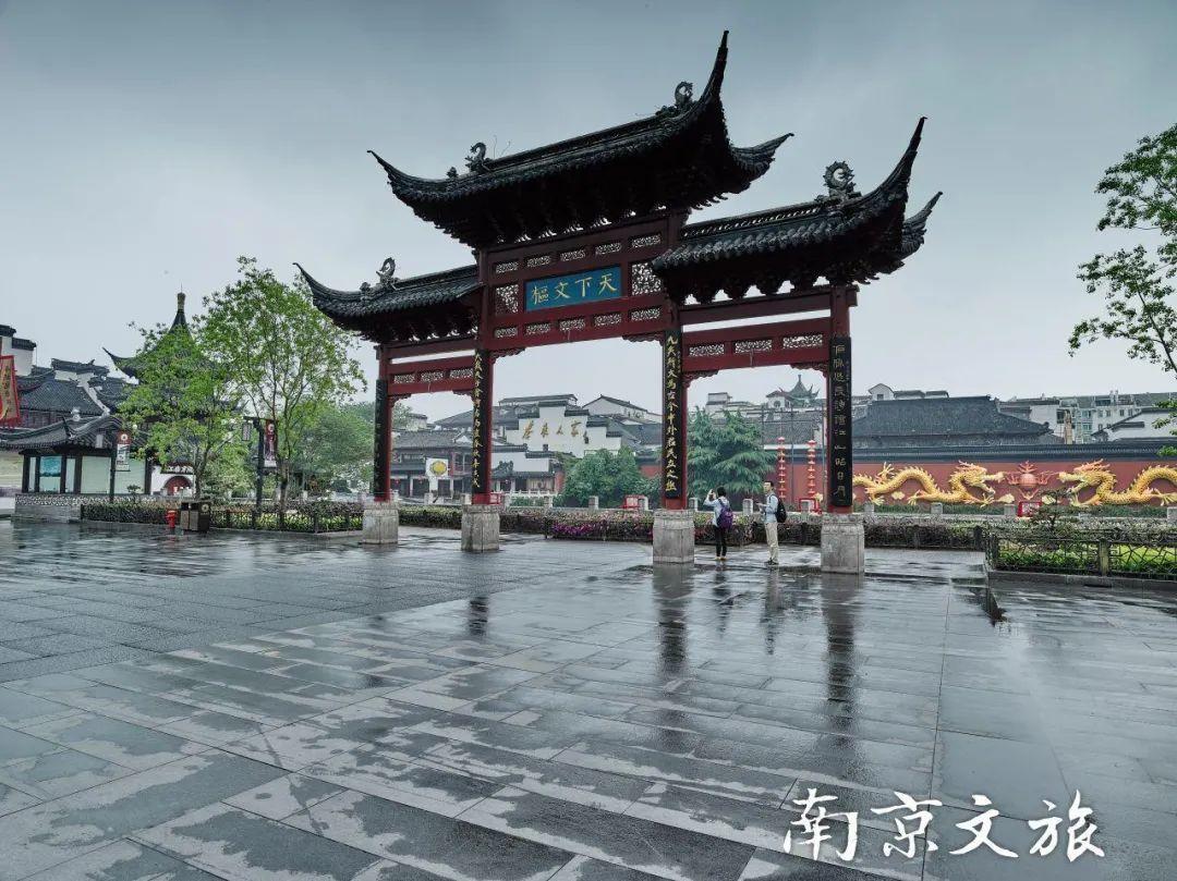云游秦淮河畔 打卡最美南京地标!
