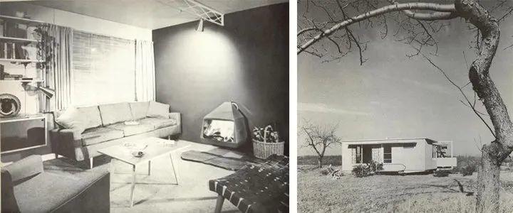 Carl Koch 设计的预制房屋 Acorn Homes. 图片来自:Treehugger