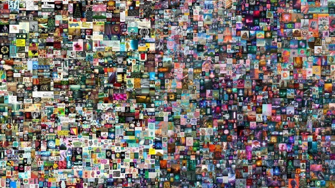 艺术家Beeple的NFT作品《Everydays:The First 5000 Days》,图源网络
