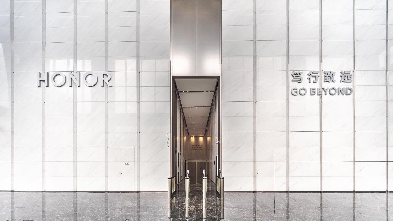 荣耀新全球总部接待大厅