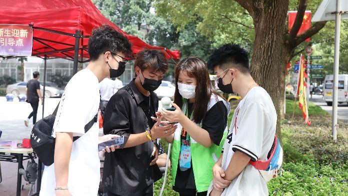 江西科技学院:数字化、可视化迎新 贴心又暖心