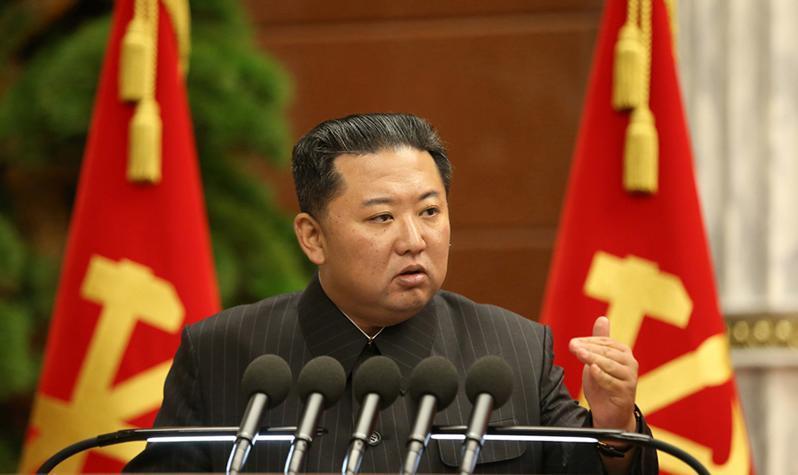 △图片来源:朝鲜中央通讯社