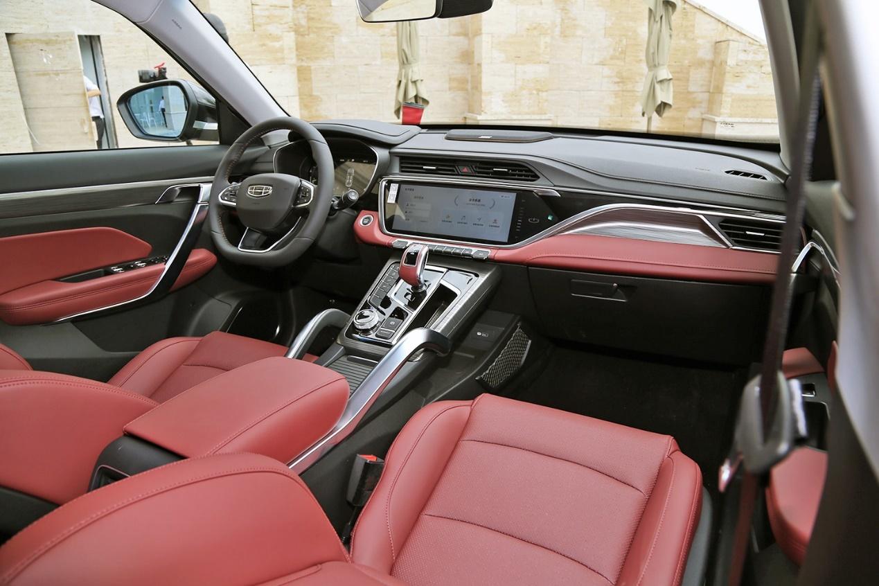 吉利博越X正式上市 4款车型售价11.28-14.28万元