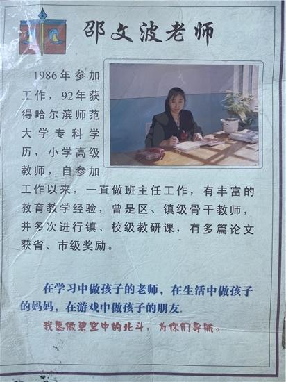 七台河市第六小学——邵文波