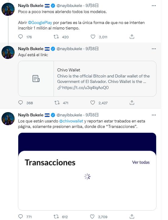 """比特幣跳水未澆熄新政熱情 薩爾瓦多總統親自"""""""