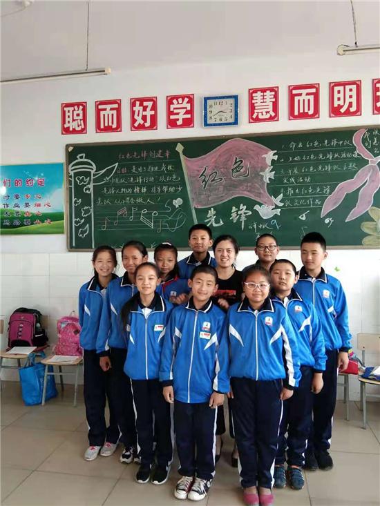 双鸭山市宝清县尖山子乡中心学校——于哲