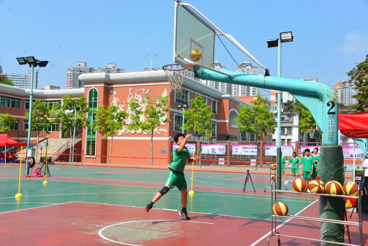 2020年广州市中考体育篮球项目考试图片
