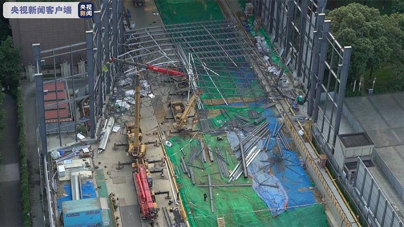 成都地铁在建工地发生坍塌事故 目前14名伤者病情稳定